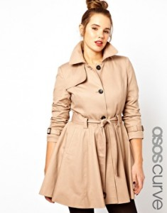 Asos trench curves