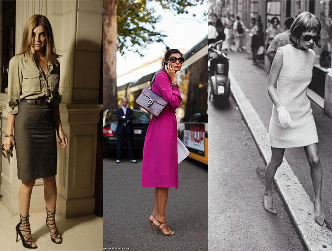 Carine Roitfeld, Giovanna Battaglia, Kate Moss Harpers Bazaar stilettos
