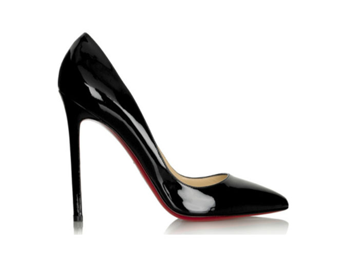 Louboutin stiletto shoe