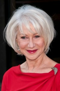 Helen Mirren gray