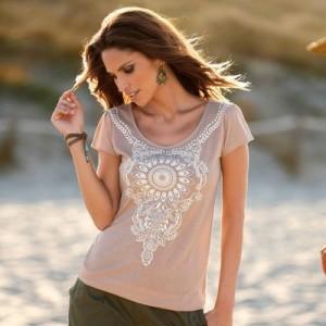 T-shirt orientalisant venca