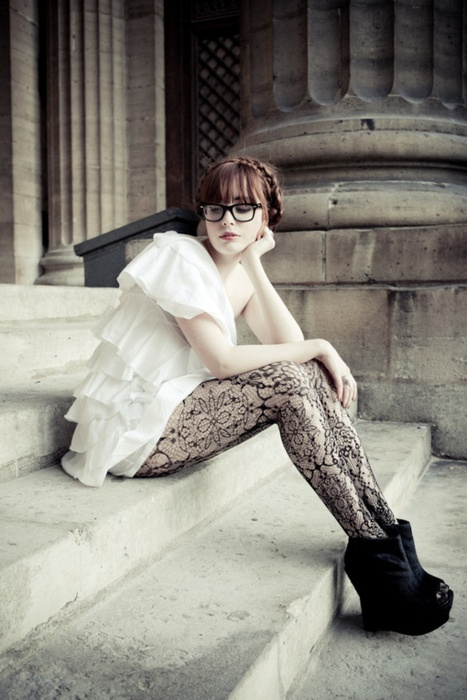 arty tights miss pandora
