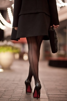 back seam tights