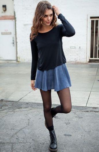 transparent black tights 2