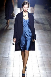 Blue hues outfit at Lanvin