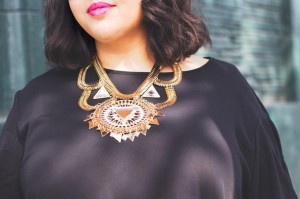 Gabi fresh statement necklace