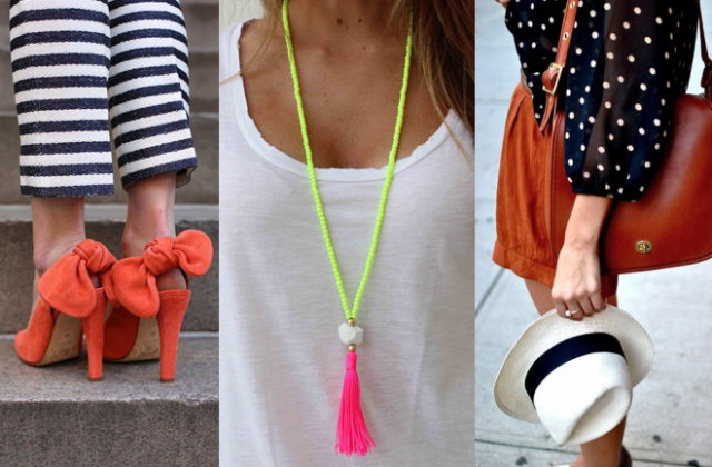 How to match accessories