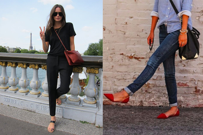 Summer Flats With Pants