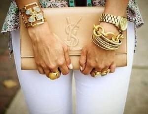 bling bracelet layering