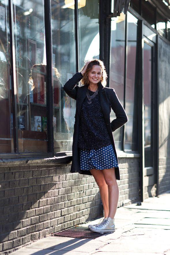 How To Wear Flat Shoes Dress Like A Parisian