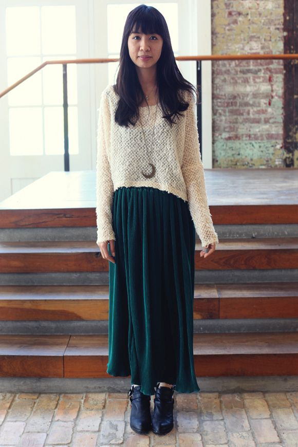What Flat Shoes To Wear With A Maxi Skirt