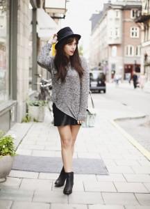 wish wish wish flat boots skirt