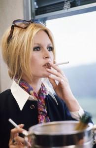 Brigitte Bardot All about details screen caption in les femmes jean aurel