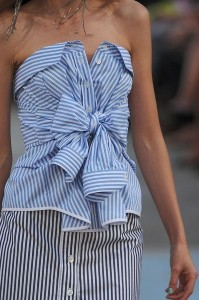 Dior stripes play