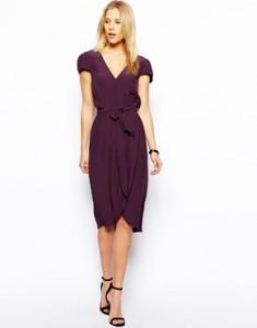 Dress same color high waist belt