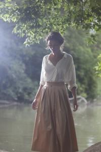 dress up a long skirt les lumières de la pluie