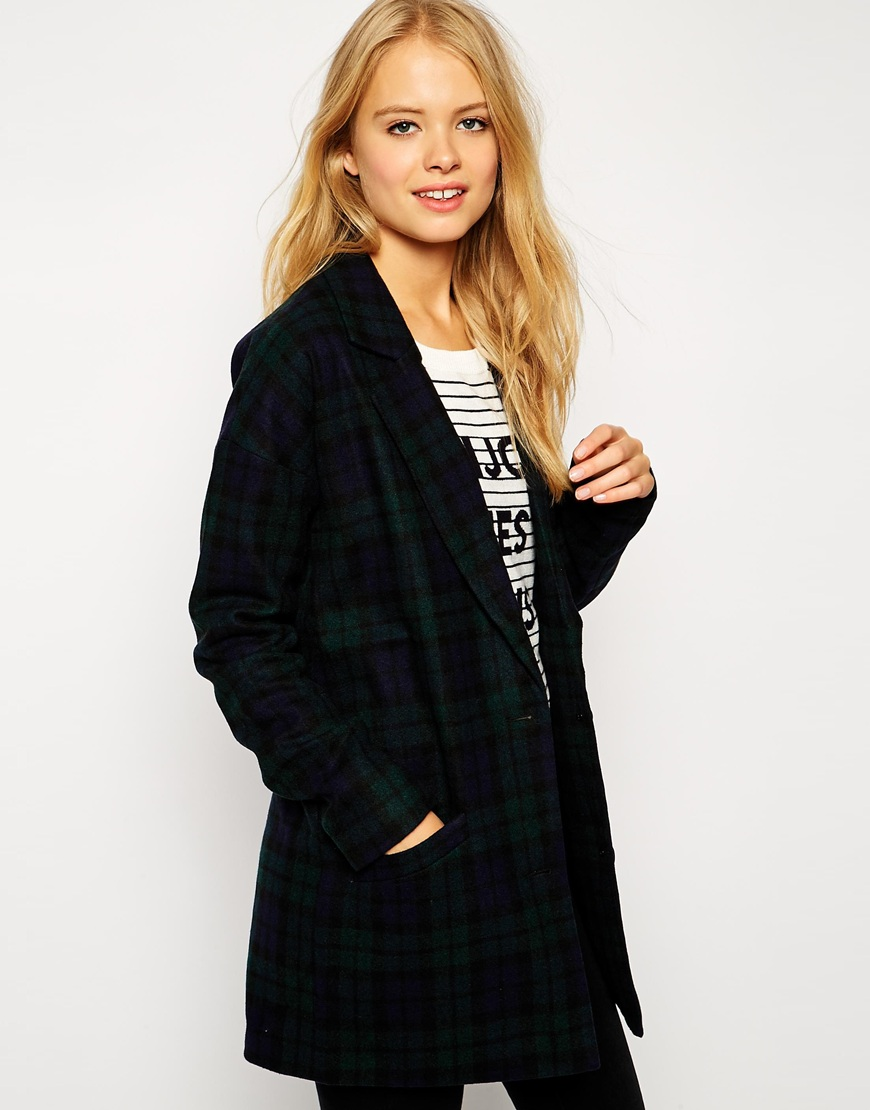 ASOS tailored relaxed carreaux