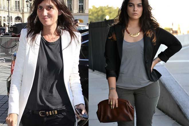 632ea0b8 How to wear plain T-shirts? | Dress like a parisian