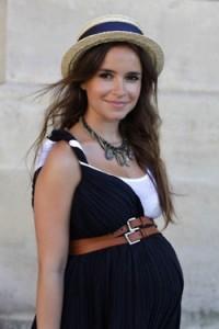Miroslava pregnant 3