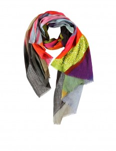 Essentiel scarf with sequins