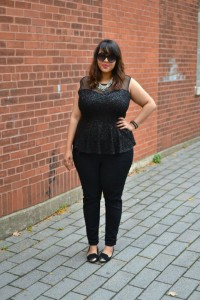 gaby fresh black sequins