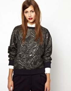 les prairies de paris foil sweater