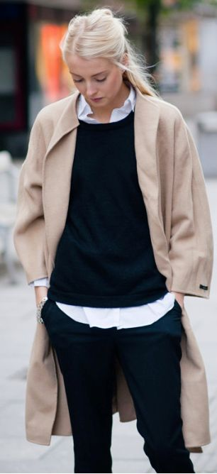 La cool and chic layering