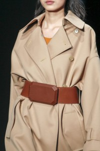 Phillip Lim fall 2014 trench belted