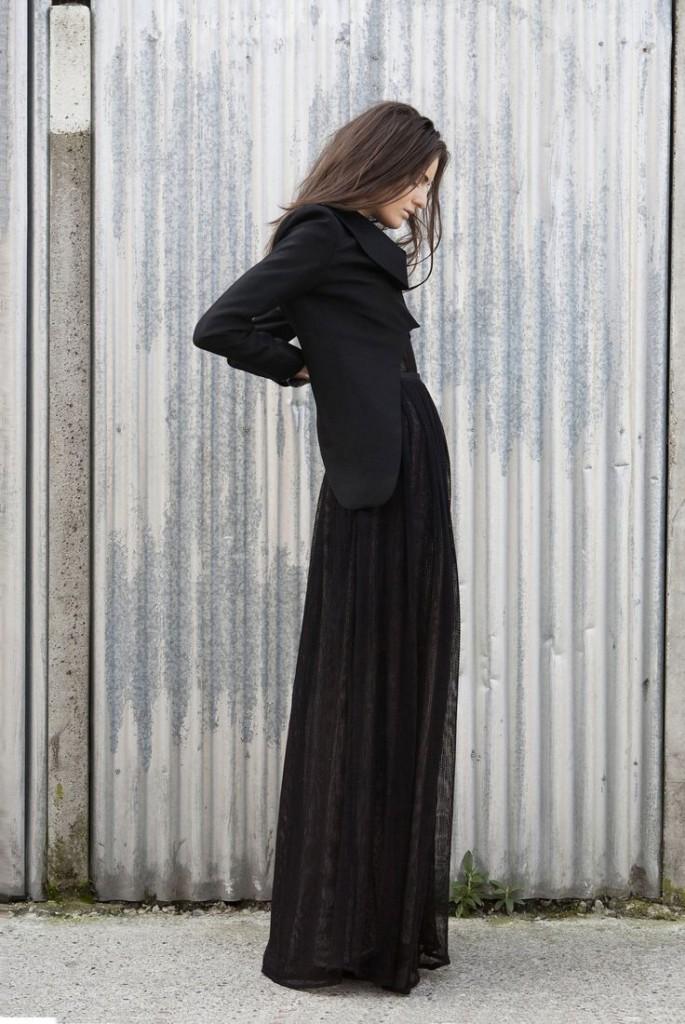Long skirt winter 17