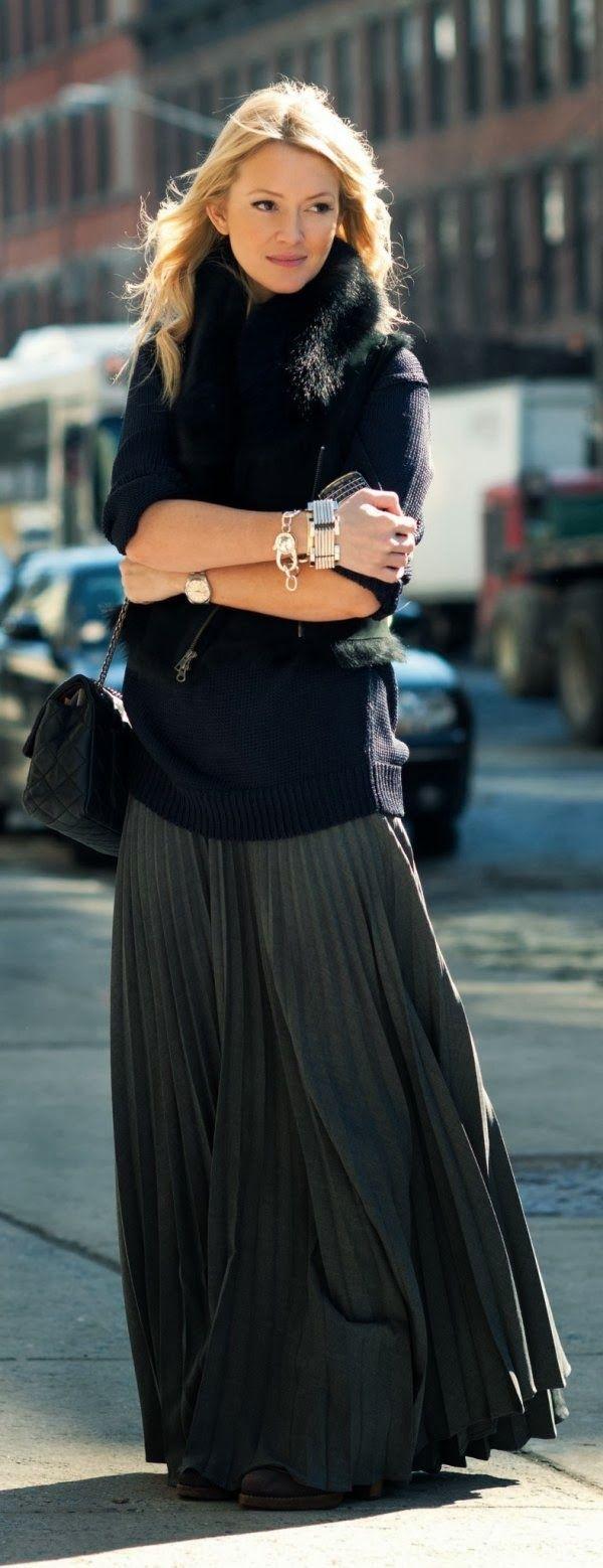 Long Skirts Winter