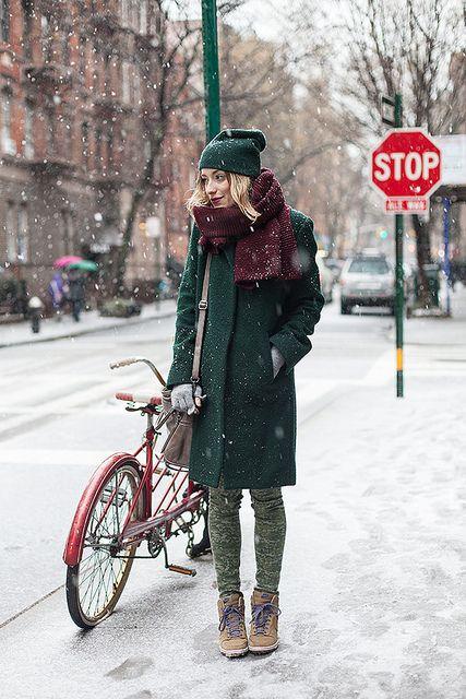 Winter look eat sleep wear
