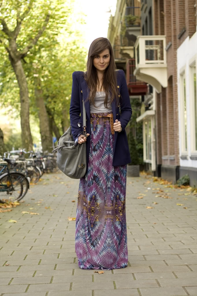 How to Wear Long Skirts