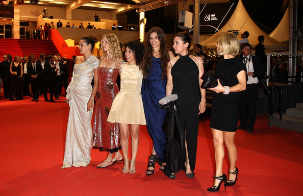 French actresses red carpet