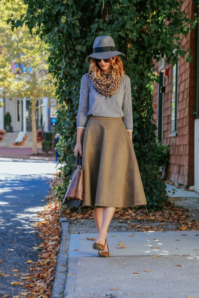 what shoes with my a line midi skirt dress like a parisian