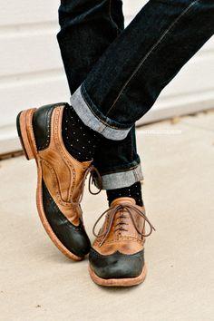 dot sheer socks