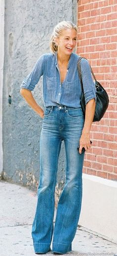 Meredith melina burke all denim