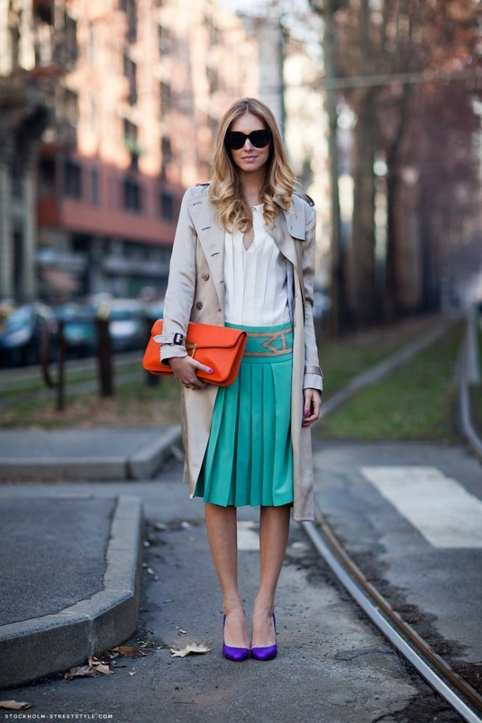 colored streetstyle