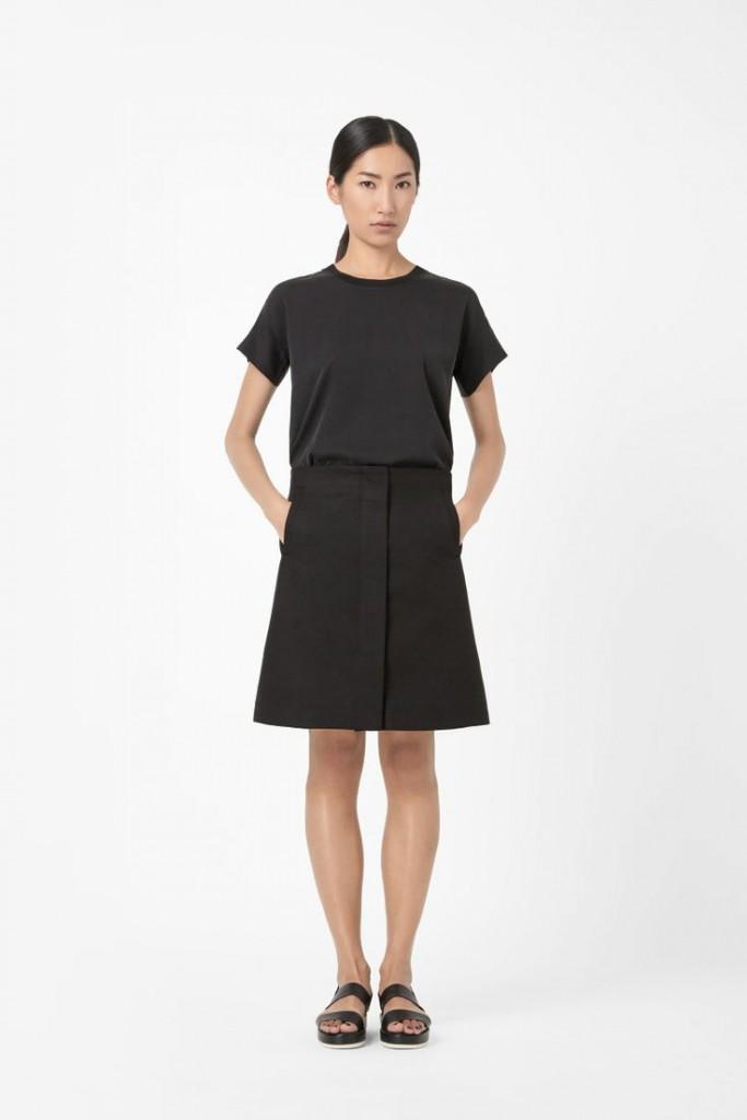 cos a line skirt 3