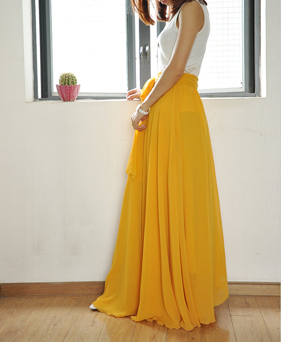 silk maxi skirt etsy