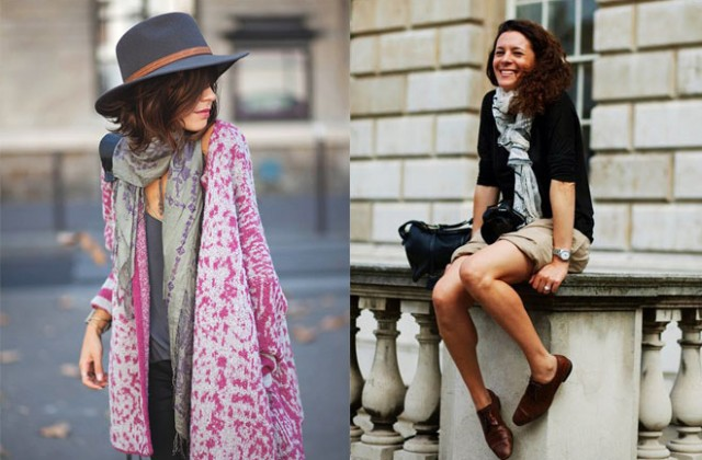 How to wear the scarf in springsummer dress like a parisian ccuart Image collections