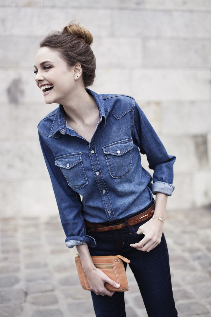 Comment porter le total denim? | Dress like a parisian