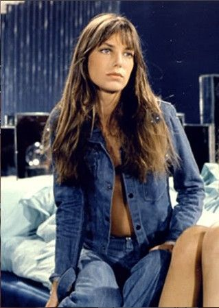 jane birkin double denim