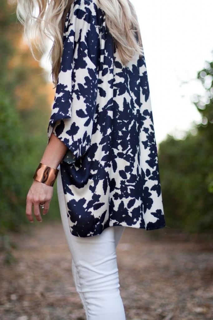 white jeans kimono