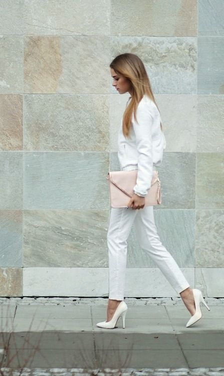 white with a hint of blush rstyle me