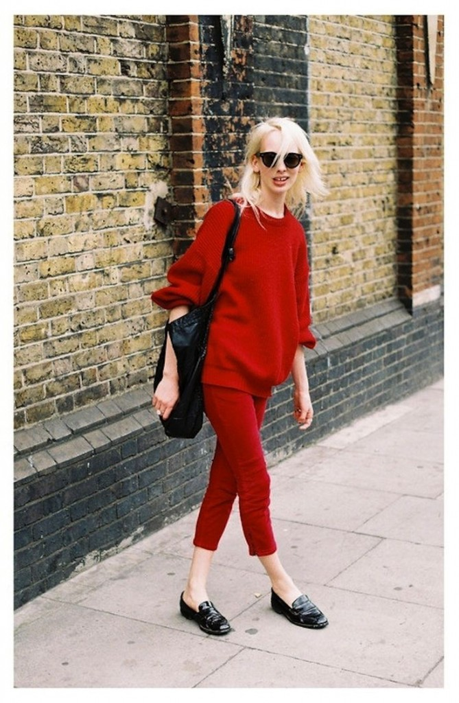 78 red pants