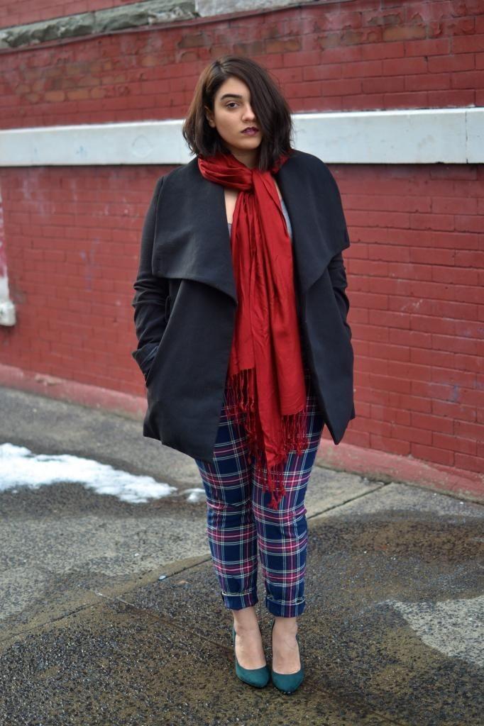 How to wear plaid? | Dress like a parisian