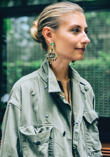 Statement earring J crew