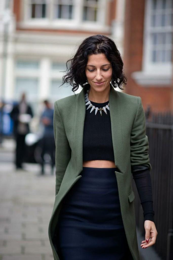 Yasmine Sewell statement necklace