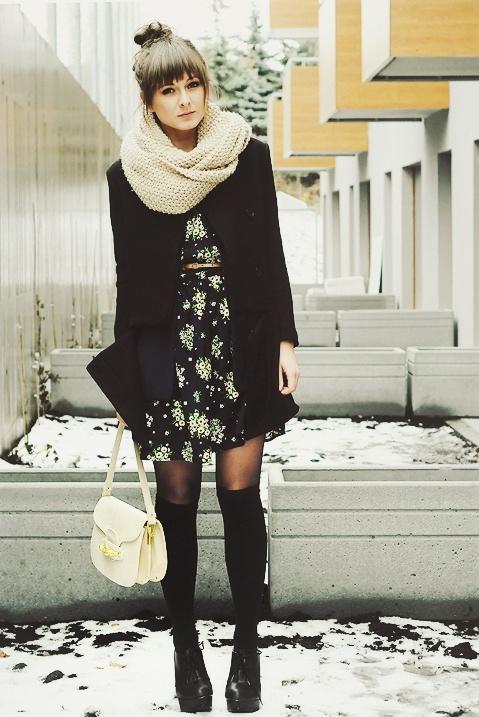 Maddinka minidress oversize scarf