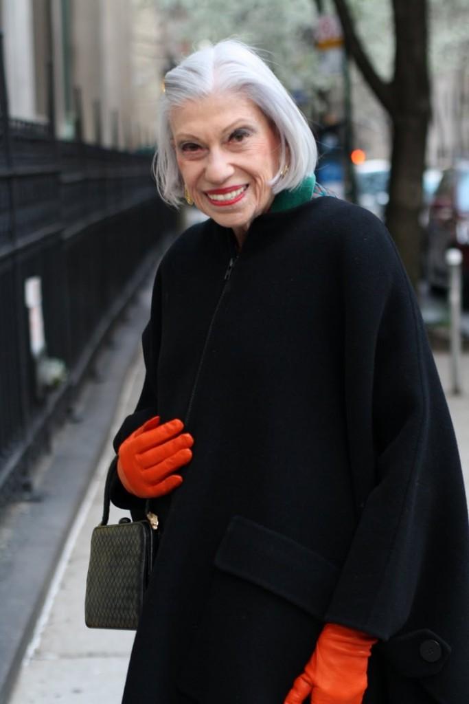 Orange gloves advanced style